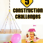 5 Construction and Building Challenges for kids (STEM)