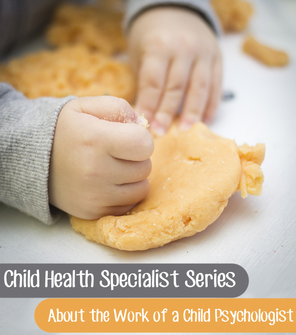 Child Health Specialist Interview Series: About the work of a Child Psychologist