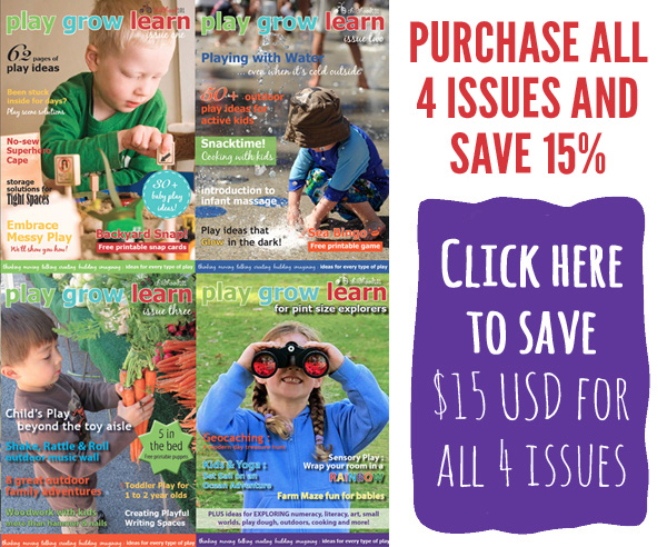 Play Grow Learn ezine all issues special