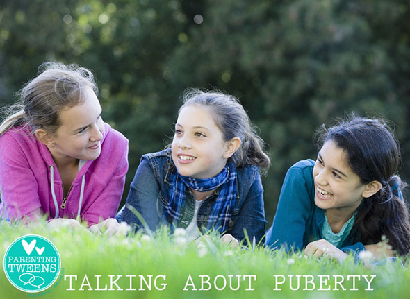 Parenting Tweens: Talking about Puberty
