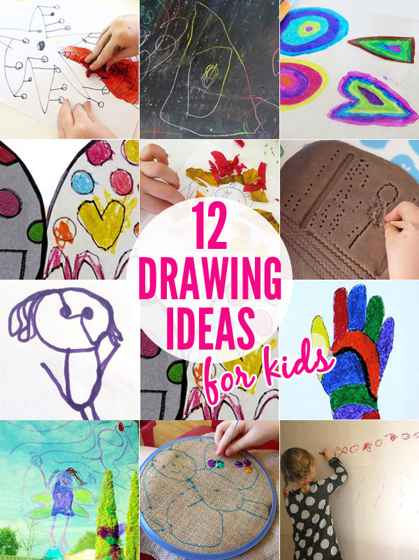12-Fun-Kids-Drawing-Ideas