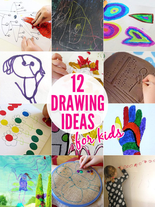 12 Super Fun Kids Drawing Ideas