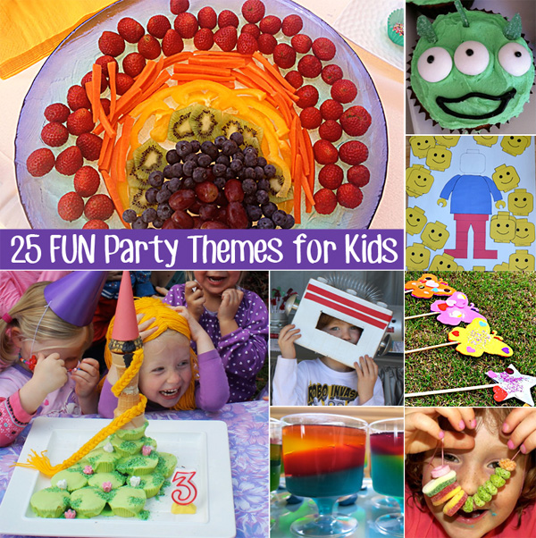 25 Fun Party Theme Ideas for Kids