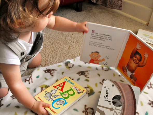 Babies and Board Books_Integrating Play, Learning and Reading