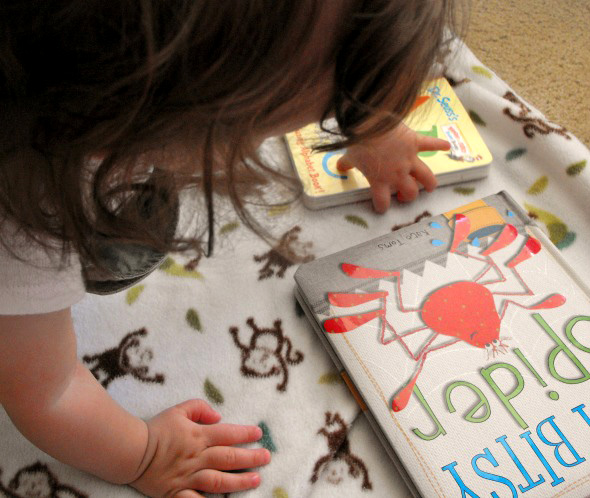 Babies and Board Books_Play, Learning with Reading