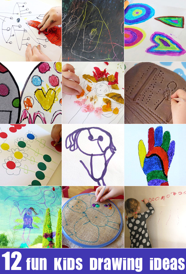 Drawing for Kids: 12 Fun Kids Drawing Ideas