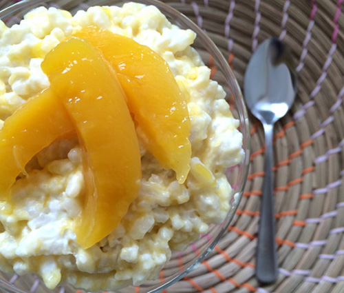 Mango and Coconut Rice Pudding Recipe