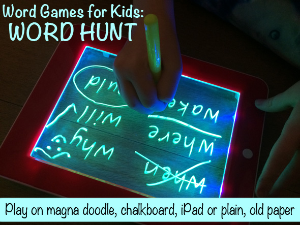 Word Games for Kids: Word Hunt