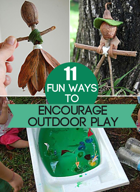 11 Fun Ways to Encourage Your Kids to Play Outdoors