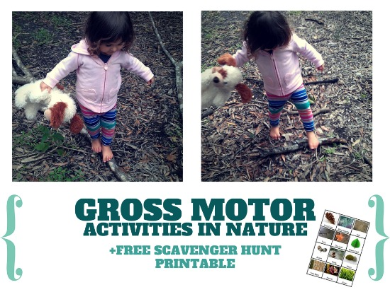 GROSS MOTOR ACTIVITIES IN NATURE