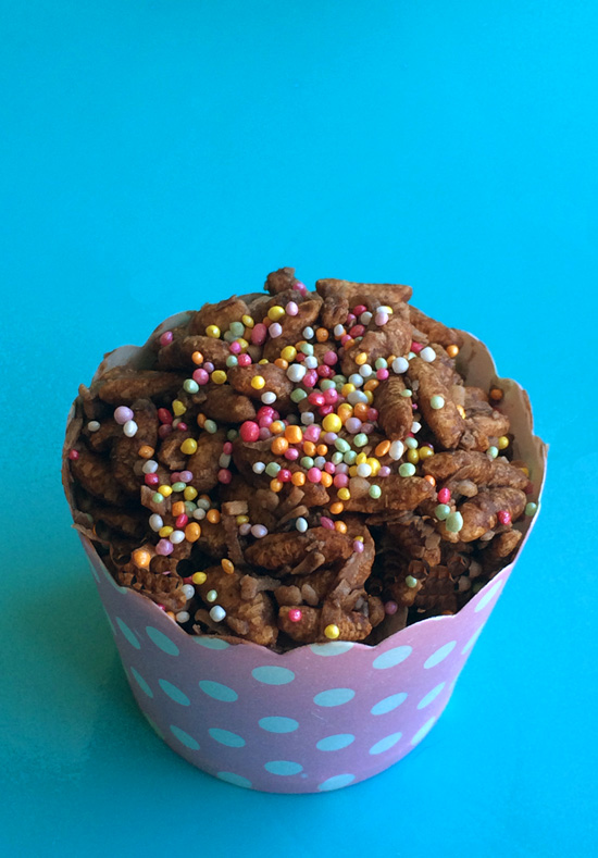 Kids Party Food Ideas: A 'Healthier' Recipe for Chocolate Crackles