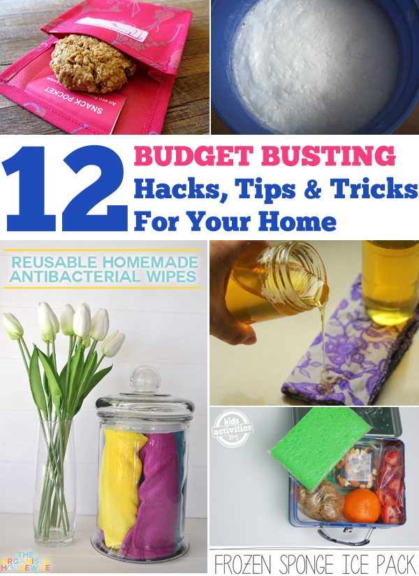 12 Budget Busting Hacks for Your Home