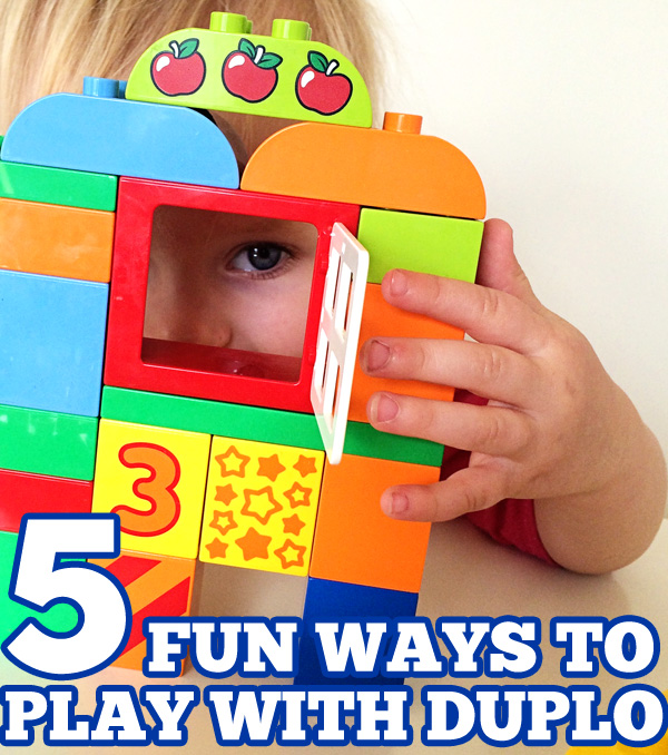5 {MORE} Ways to Play & Learn with LEGO DUPLO