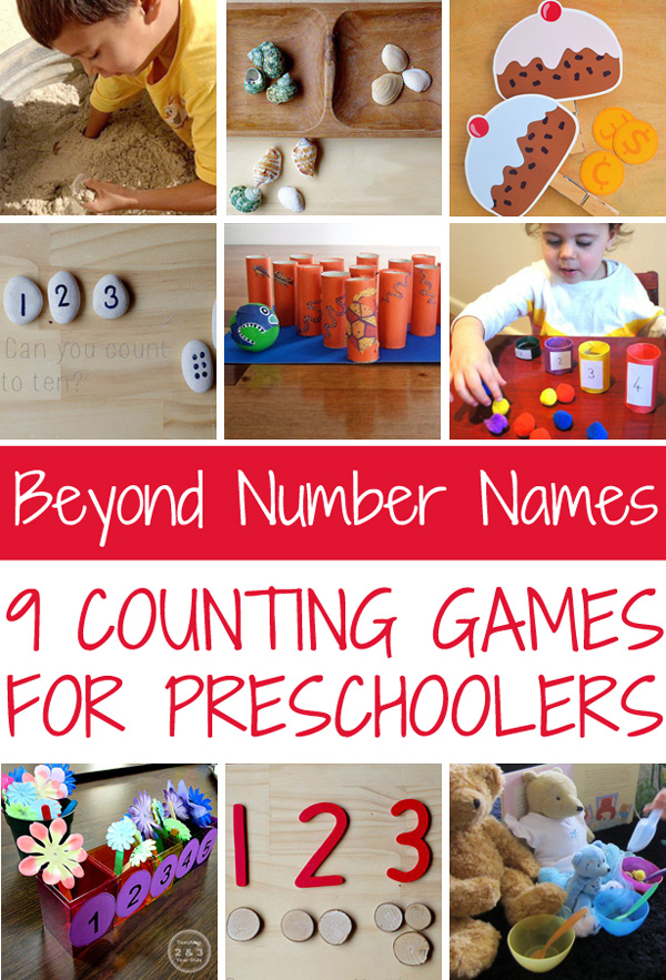 Beyond Number Names: 9 Counting Games for Preschoolers