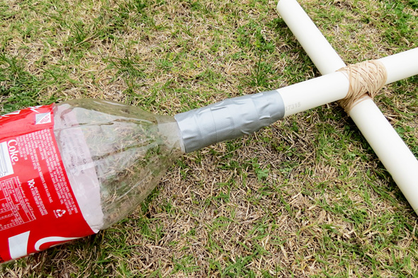 Science for kids: DIY stomp rocket tutorial