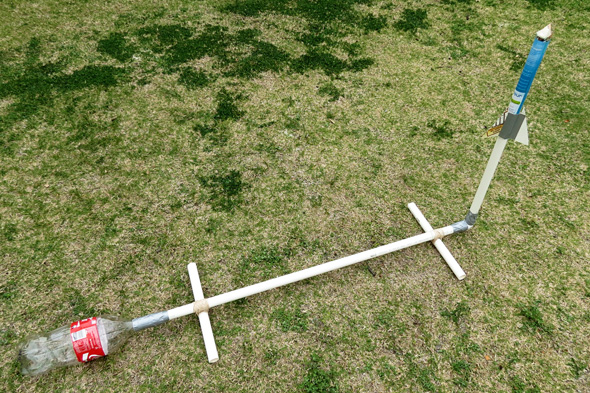 Science for Kids: DIY stomp rocket