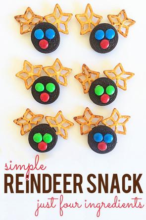 Simple-Christmas-Reindeer-Snack-Idea