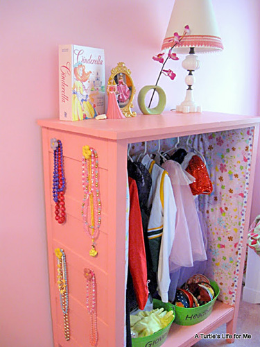 Dress Up Storage Ideas
