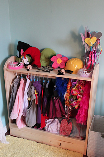 Beau Dress Up Stand For Storage