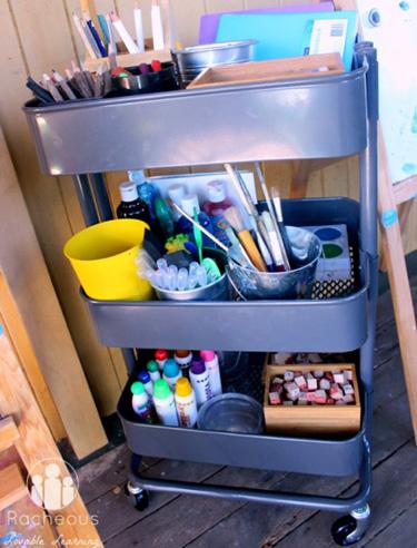 Arts and crafts storage ideas