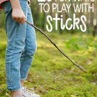 20 Fun Ways to Play With Sticks