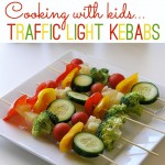 Cooking with Kids: Traffic Light Kebabs