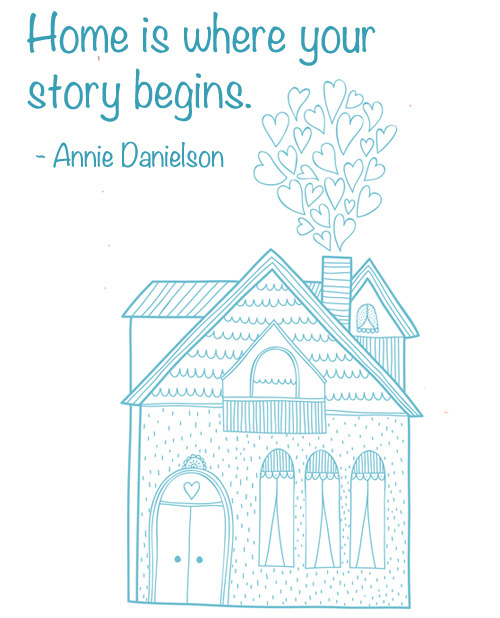Home is where your story begins quote