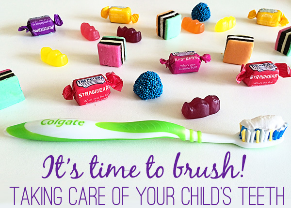 It's time to brush! All You Need to Know About Taking Care of Your Children's Teeth