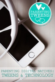 Parenting Digital Natives: Tips for Navigating Your Tweens' Use of Technology