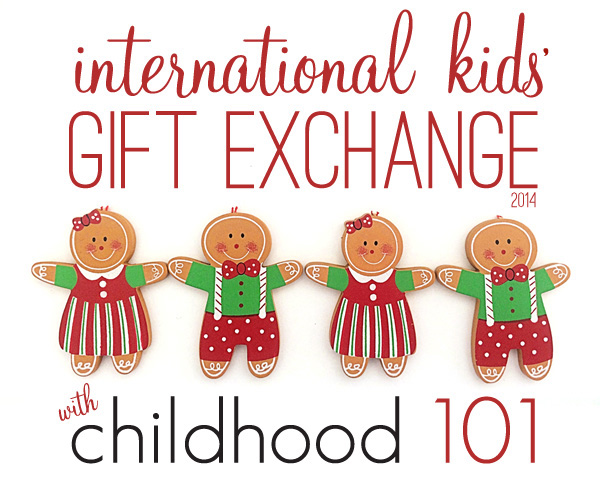 International kids gift exchange hosted at Childhood 101