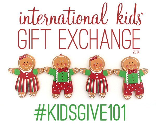 International kids gift exchange hosted by Childhood 101
