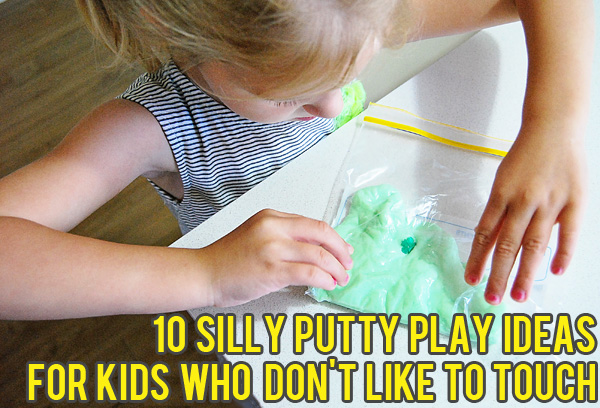 10 silly putty activities. Fine motor activities for kids