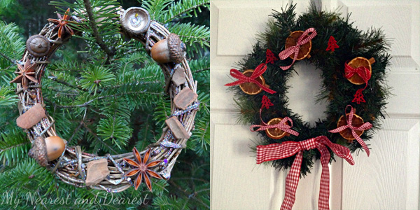12 Homemade Christmas Wreaths Children Can Make