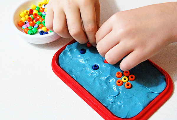 21 silly putty activities and homemade putty recipe. Fine motor activities for kids