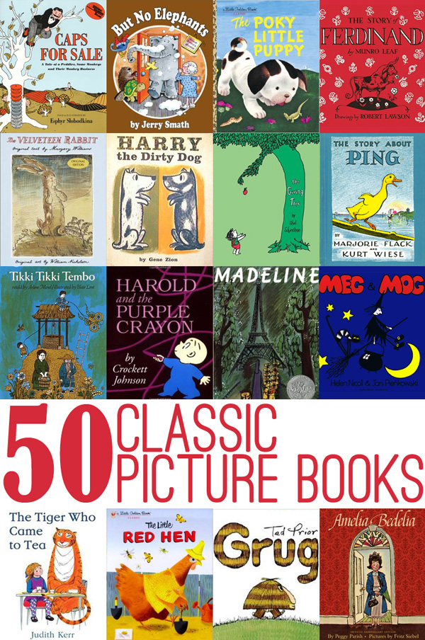 50 Classic Picture Books To Read With Kids