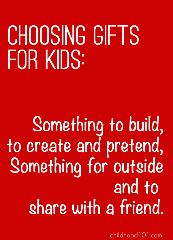 Choosing great toys for kids