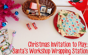 Invitation to Play: Santa's Workshop