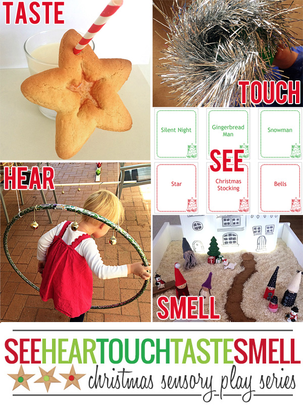 Christmas sensory play series