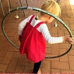 Christmas Sensory Play: Don't Ring the Bells Obstacle Course
