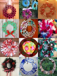 Homemade Christmas Wreath Ideas_Make a wreath as a family for a fabulous keepsake and tradition