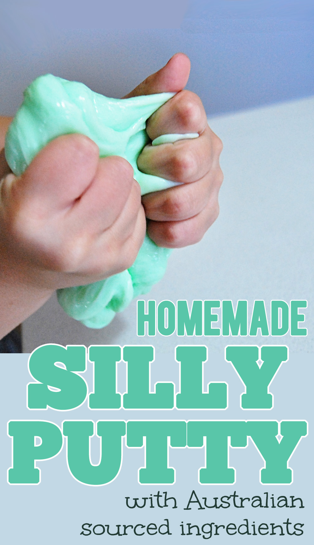 Silly Putty Recipe & 10 Putty Play Ideas