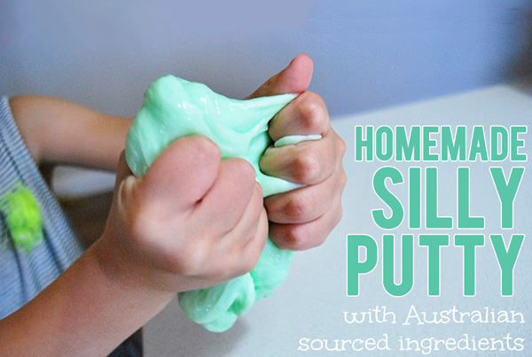 Silly putty recipe australia homemade silly putty recipe with australian ingredients ccuart Gallery