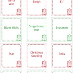 Enjoy family time together this Christmas with a game of Christmas charades! These printable game cards make it easy to play.