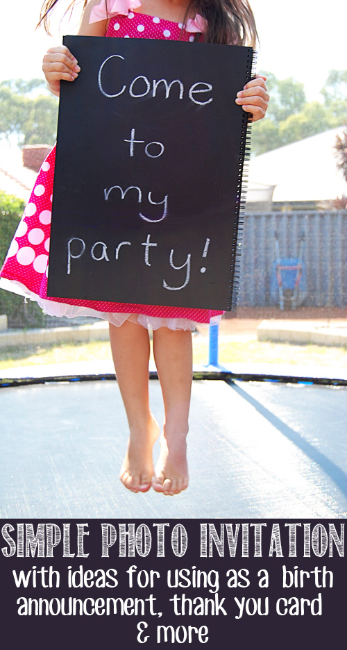 Party Invitation Ideas