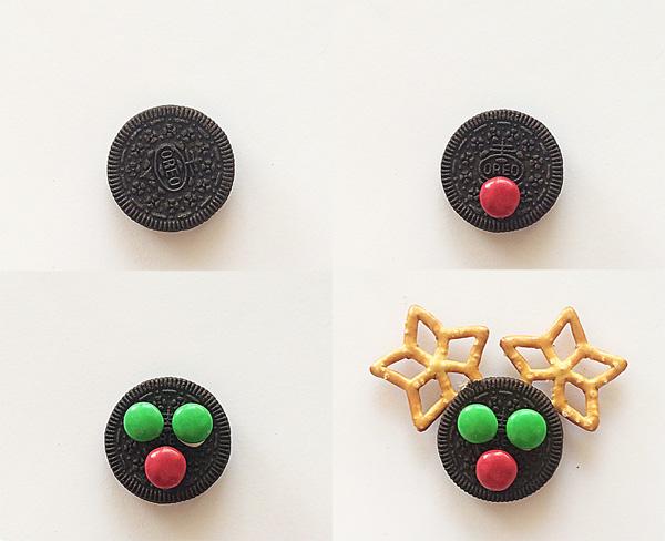 Simple Christmas Reindeer Snack Idea