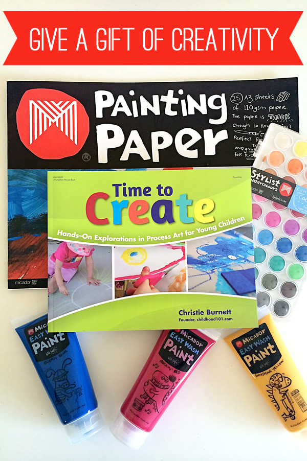 Gifts for Kids: Giving a Gift of Creativity