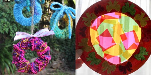 Homemade Christmas Wreath Ideas: A fun family tradition