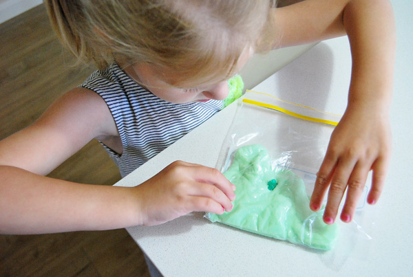 Silly putty activities