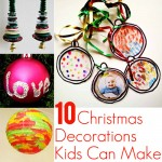 10 Christmas Decorations Kids Can Actually Do
