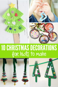 10 Homemade Christmas Decorations for Kids to Make